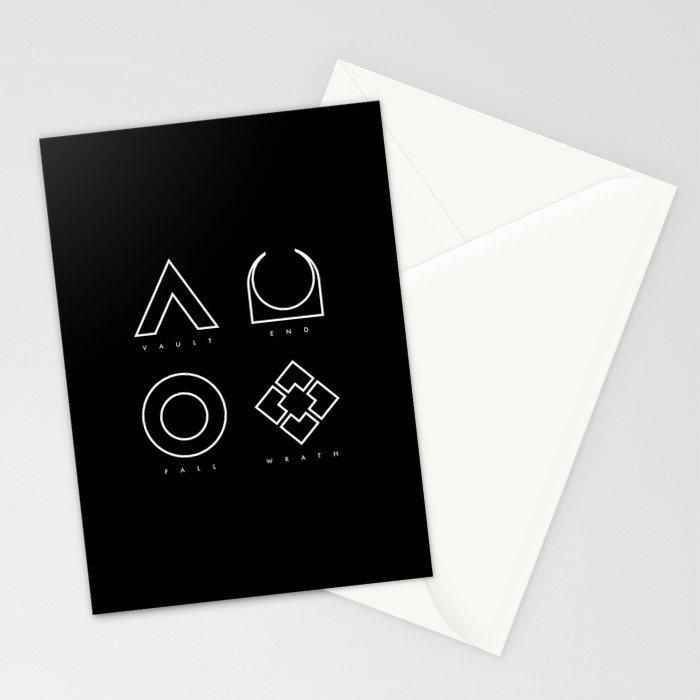 PAUSE – RAID Stationery Cards