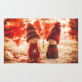 Christmas is coming Rug