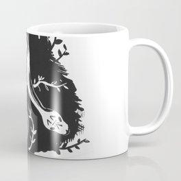 Floral Snake Coffee Mug