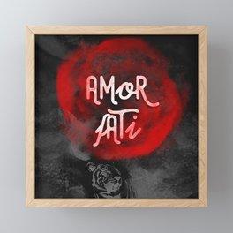 Amor Fati Framed Mini Art Print