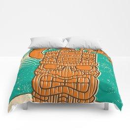 Tiki Time Comforters