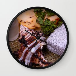 Bath accessories. Wall Clock