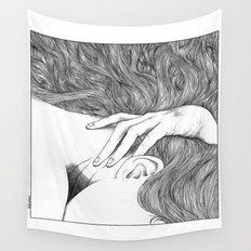 asc 629 - Le geste furtif (Stealth rapture) Wall Tapestry