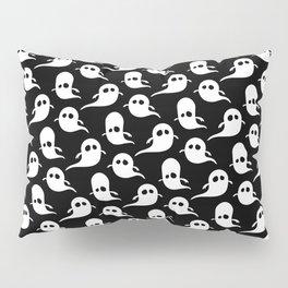 Ghost Pattern | Halloween Art | Boo | Spooky | Cute Illustration Pillow Sham