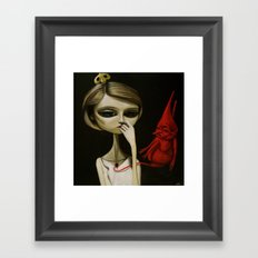 dream tonight Framed Art Print