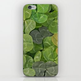 Multicoloured leaves with patterns iPhone Skin