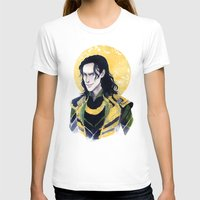 enerjax T-shirts featuring Loki of Asgard by enerjax