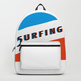 SURFING 3D - Square Backpack