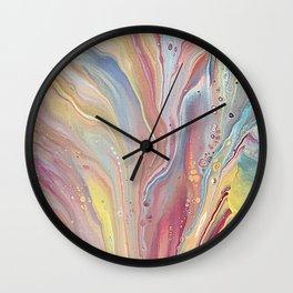 Spring Dip 2 Wall Clock