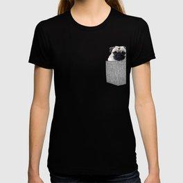 Pug Gift Dog in Your Pocket Pug for Dog Lover T-shirt