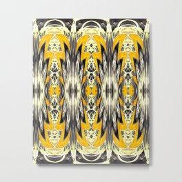 Sunny Tribal Metal Print