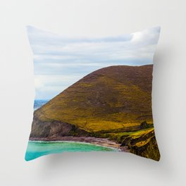Hidden Cove House Throw Pillow