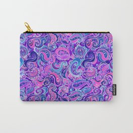 D20 Paisley Swirl Carry-All Pouch