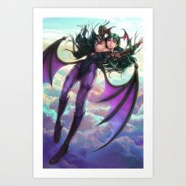 Morrigan Art Print