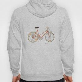 Orange Bike no 16 Hoody