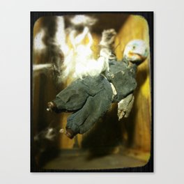 The Exploding Boy Canvas Print
