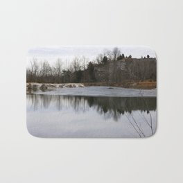 Lake reflections Bath Mat
