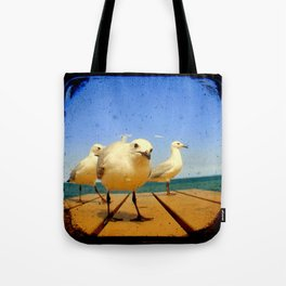 Seagulls - number 4 from set of 4 Tote Bag