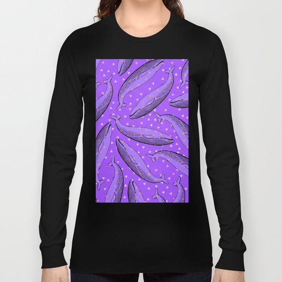 lusty whales Long Sleeve T-shirt