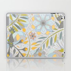 Faded Summer Blossoms Laptop & iPad Skin