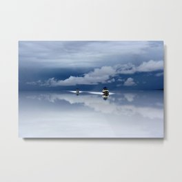 Traveling through the sky Metal Print