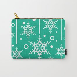 Let it Snow...(Emerald) Carry-All Pouch