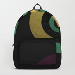 Circle Fibonacci.1 Backpack