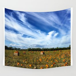 Pumpkin season is here Wall Tapestry