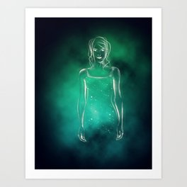 Galaxy Within Art Print