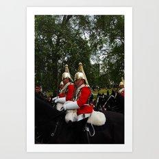 London's Guards Art Print