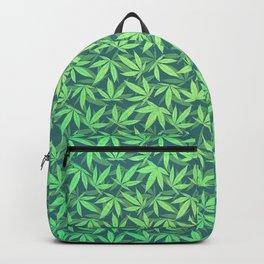 Cannabis / Hemp / 420 / Marijuana  - Pattern Backpack