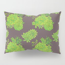 Succulent Pattern Pillow Sham