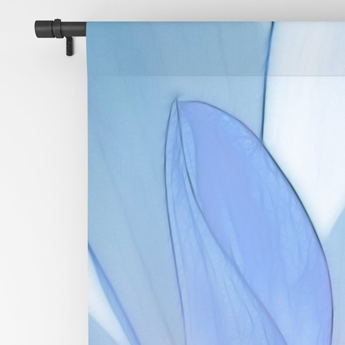 Dahlia blue 202 Blackout Curtain