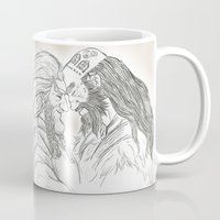 nori Mugs featuring Headbutt by BlueSparkle