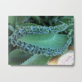 Green Wave 5 Metal Print