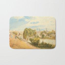 ALT, RUDOLF VON (1812 Vienna 1905) München vom Gasteig aus. Bath Mat