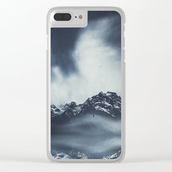 everlasting mountains Clear iPhone Case