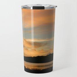 Lake Casitas Sunrise Travel Mug