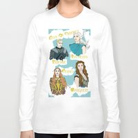 daenerys Long Sleeve T-shirts featuring Game Of Thrones  by JessicaJaneIllustration