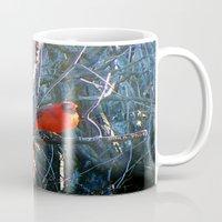 cardinal Mugs featuring Cardinal by IcyBC