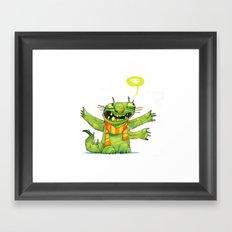 Huggs Framed Art Print