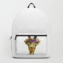 Cute Giraffe Watercolor-Awesome Giraffe Lovers Birthday Gift Backpack