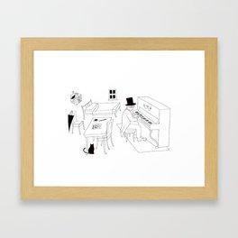 Erik Satie Framed Art Print