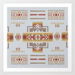 American Native Pattern No. 164 Art Print