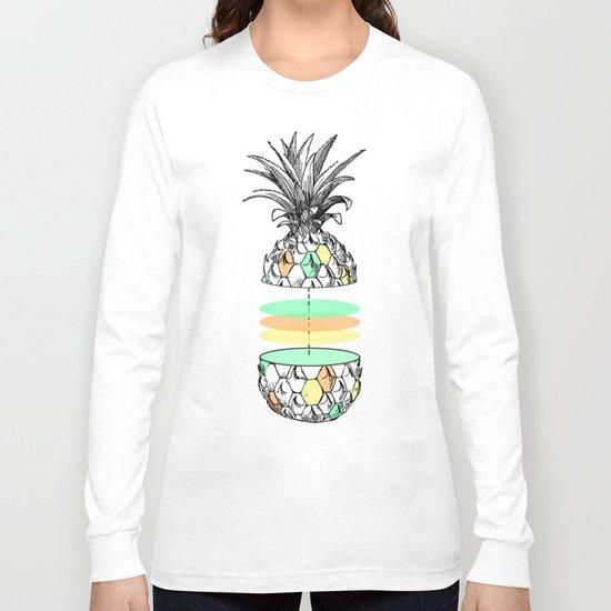 Sliced pineapple Long Sleeve T-shirt