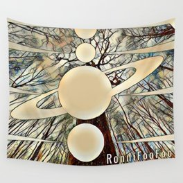 Planetary Forest Wall Tapestry