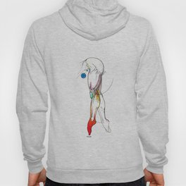 The Show, female legs anatomy, NYC artist Hoody