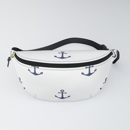 Anchor Pattern Fanny Pack