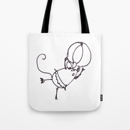 Circus Mouse Tote Bag