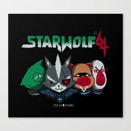 starwolf 64 Canvas Print